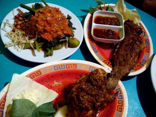 """need to closed with Lombok""""s (Indonesia) menue..""""ayam taliwang,,ikan bakar n plecing kangkung"""""""