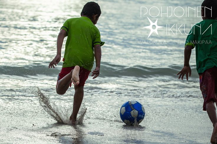 KidsPlay #kids #football #beach