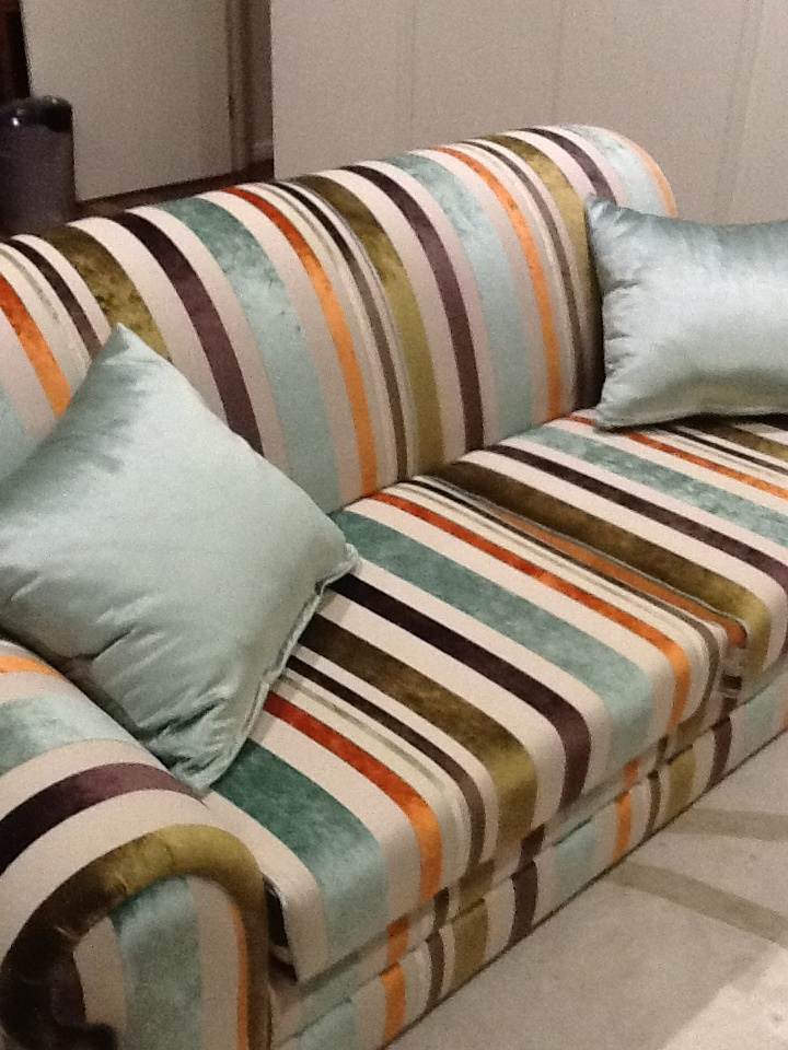 Recovered Sofa Warwick Fabric Mizu Colour Riverside