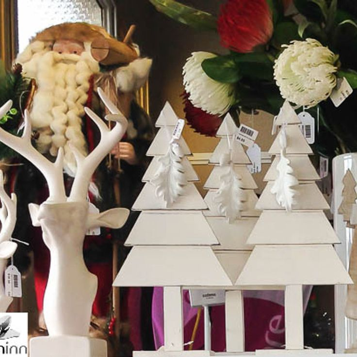 Table Trees Christmas Ornament