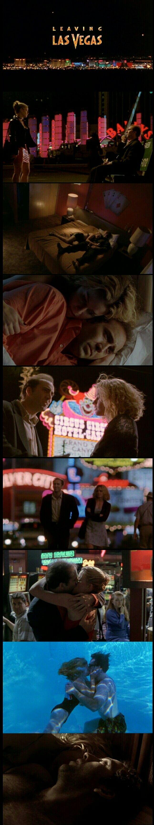 Nicolas Cage and Elisabeth Shue in Leaving Las Vegas(1995)