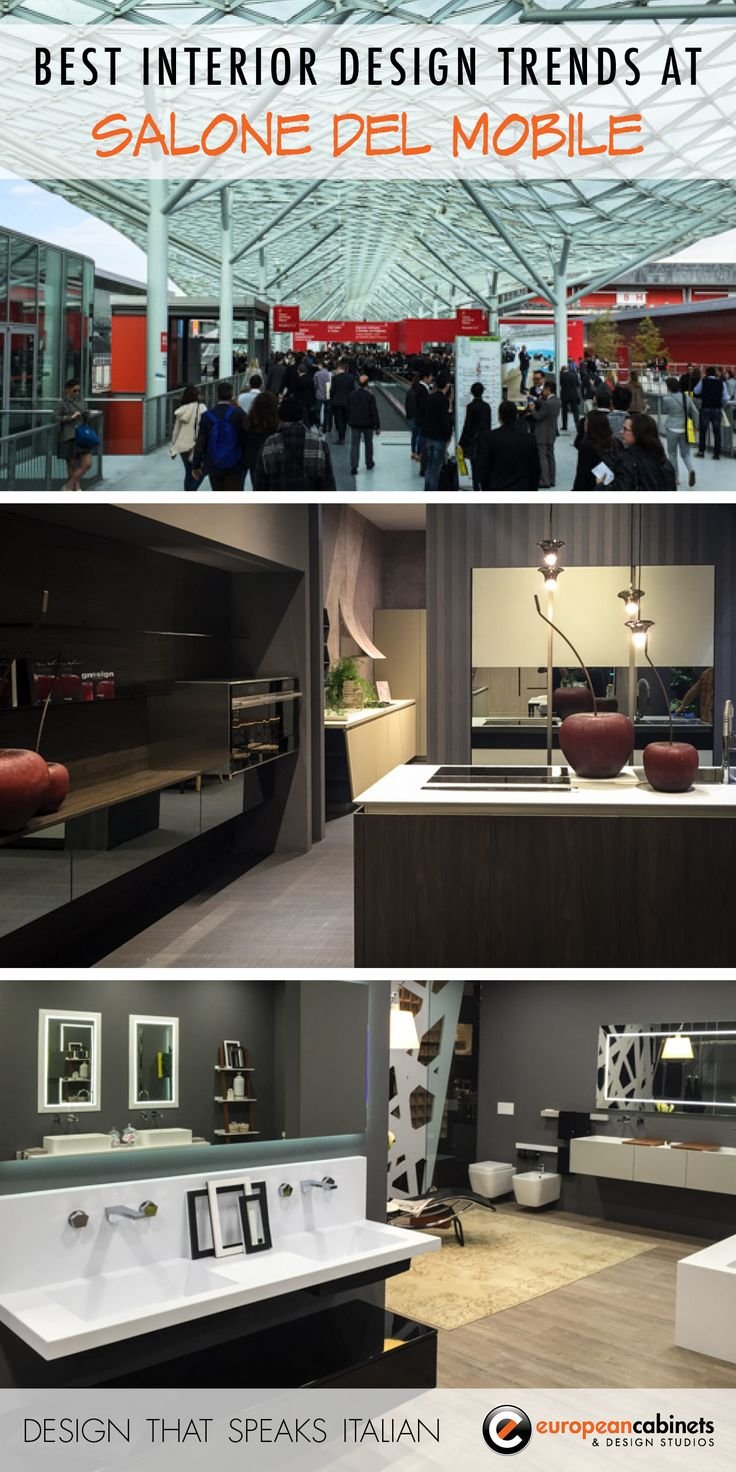 We had a fabulous time exploring all the latest interior design trends at EuroCucina and Salone del Mobile!
