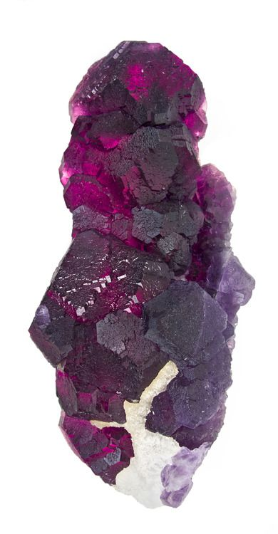 Fluorite stalactite from China
