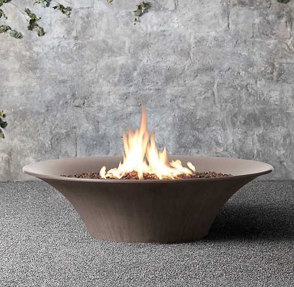 Propane Flared Concrete Fire Bowl Walnut March 2014 Email