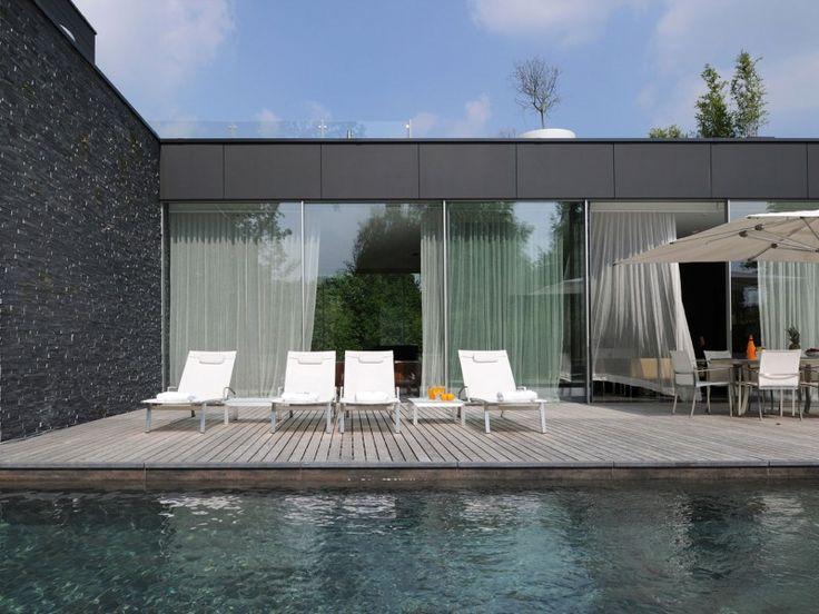 Maison moderne avec pisicne à Bruxelles