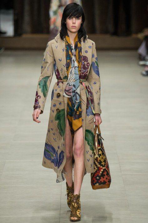Burberry Prorsum AW2014 at London Fashion Week via heelsandbells.com