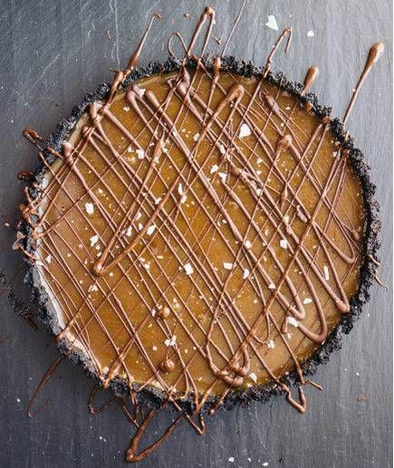 Gooey Chocolate Caramel Tart