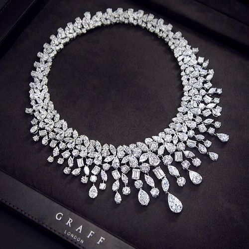 Graff Diamonds - Diamond Fringe Necklace