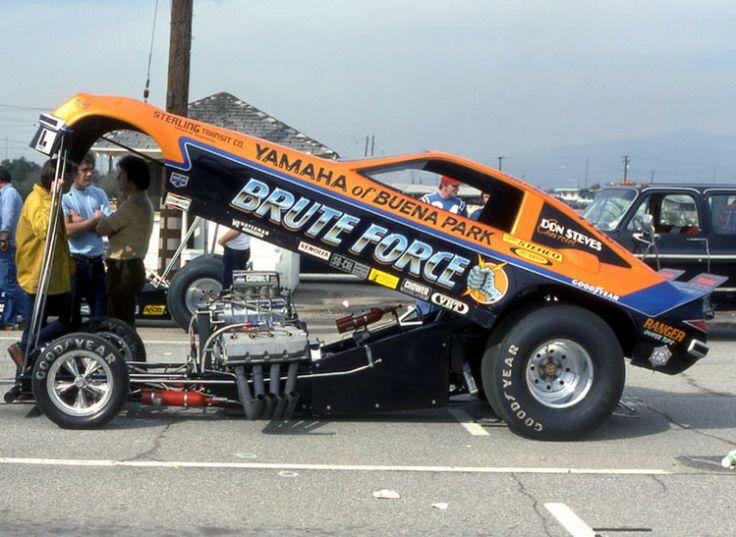 John Force's BRUTE FORCE Funny Car