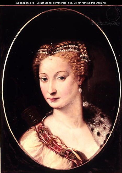 Diane de Poitiers 1499-1566 - Francesco Primaticcio, Mistress to Henri II of…