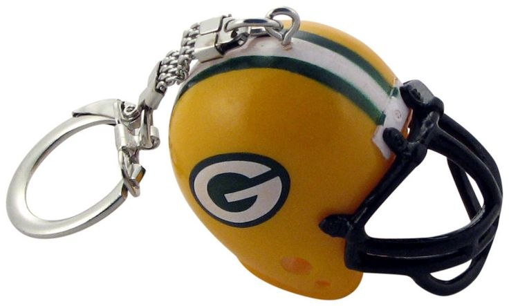 Green Bay Packers Helmet Keychain | Green Bay Packers Helmet ...