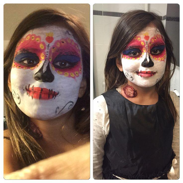 Halloween make-up by Yensi. La Muerte