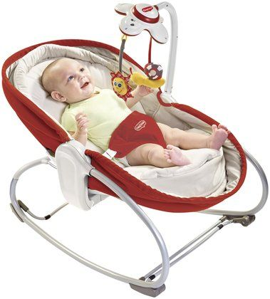 Tiny Love 3 in 1 Rocker Napper - Brown - Free Shipping