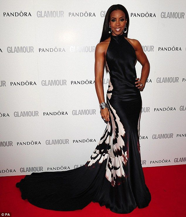 : Awards 2012, Red Carpets, Kelly Rowland, Black White, 2012 Red, Maria Grachvogel, Glamour Awards, 2012 Glamour, Glamour Woman