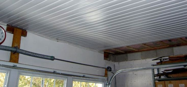 8 Garage Ceiling Ideas For That, Garage Ceiling Insulation Ideas