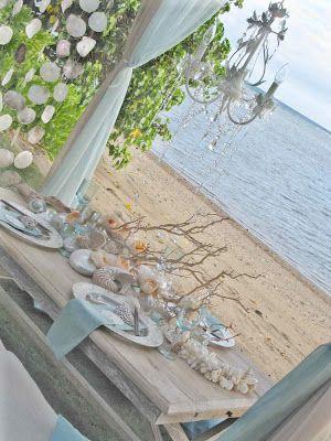 The Wedding Decorator: Beach Style Wedding Inspiration