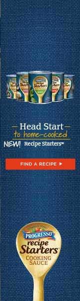 Progresso Recipe Starters - Find a Recipe~~~ Have tried a few of them !!!What a time saver~~~