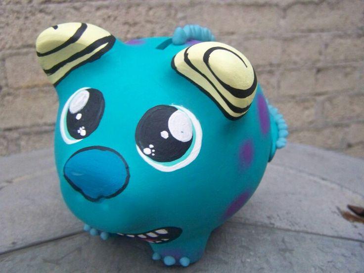 Alcancia  de  cerámica  Arte vector $$$$