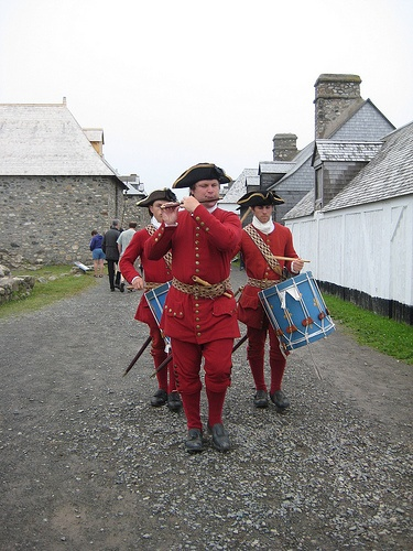 The Fortress of Louisbourg - go back in time to 1744 a re-construdted 18th century fortress guarded by French soldiers.