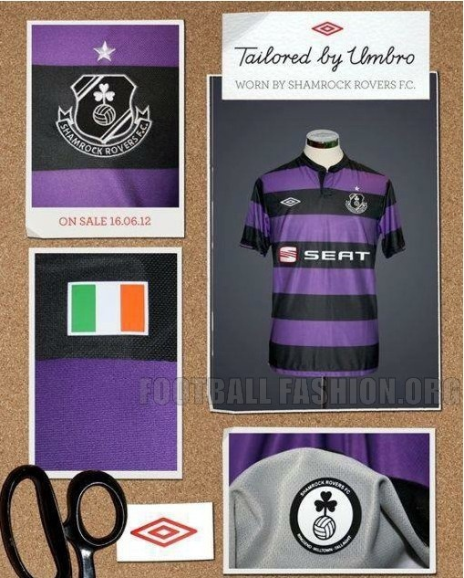 Shamrock Rovers Umbro 2012/13 Away Kit