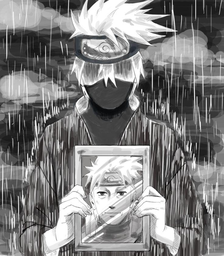 Kakashi: Father's Funeral by SAKURATAISEN on DeviantArt