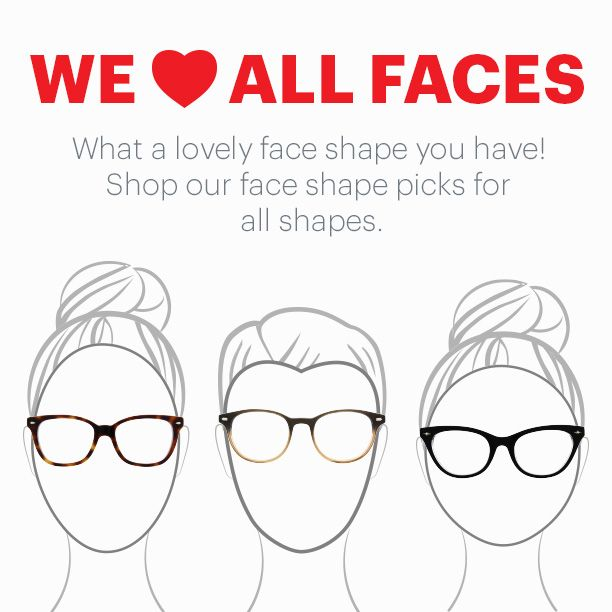 Eyeglass Frames Match Your Face : 1000+ images about #glassestip on Pinterest
