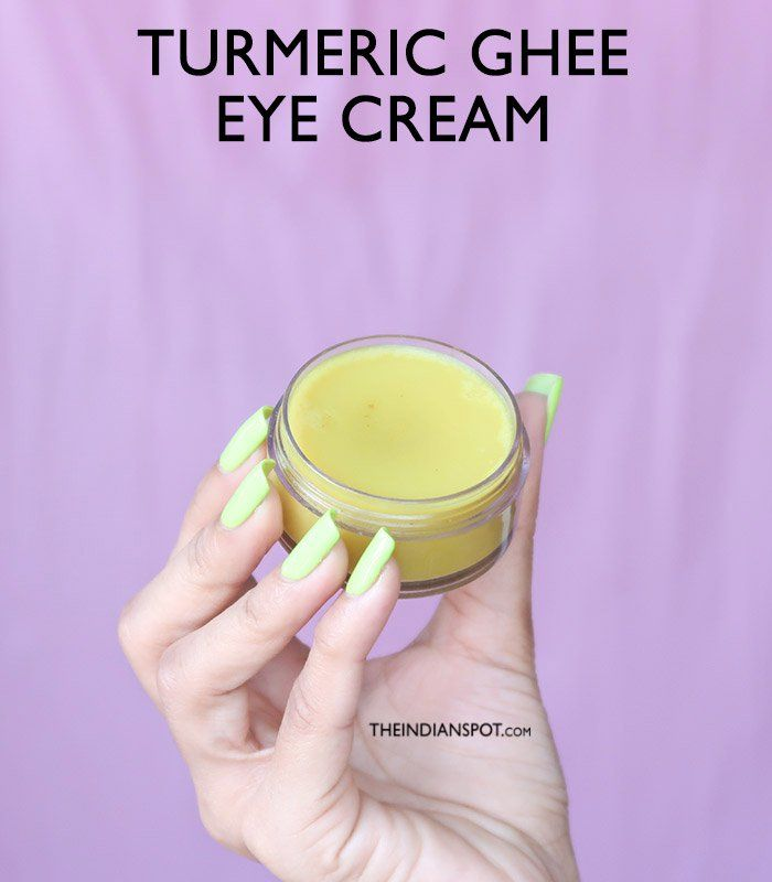 TURMERIC GHEE EYE CREAM FOR DARK CIRCLES | Eye cream for ...