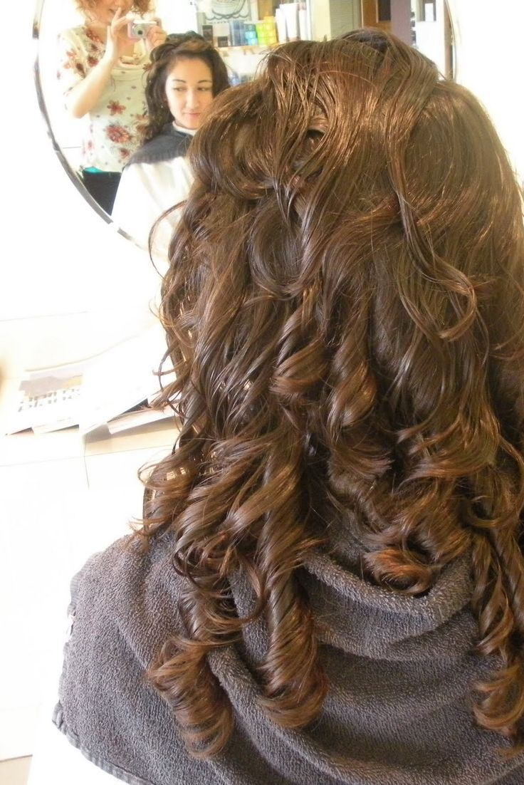 Undo straight perm - Big Curl Perms Related To Perm Hairstyles Digital Perm Wavy Curls Soft