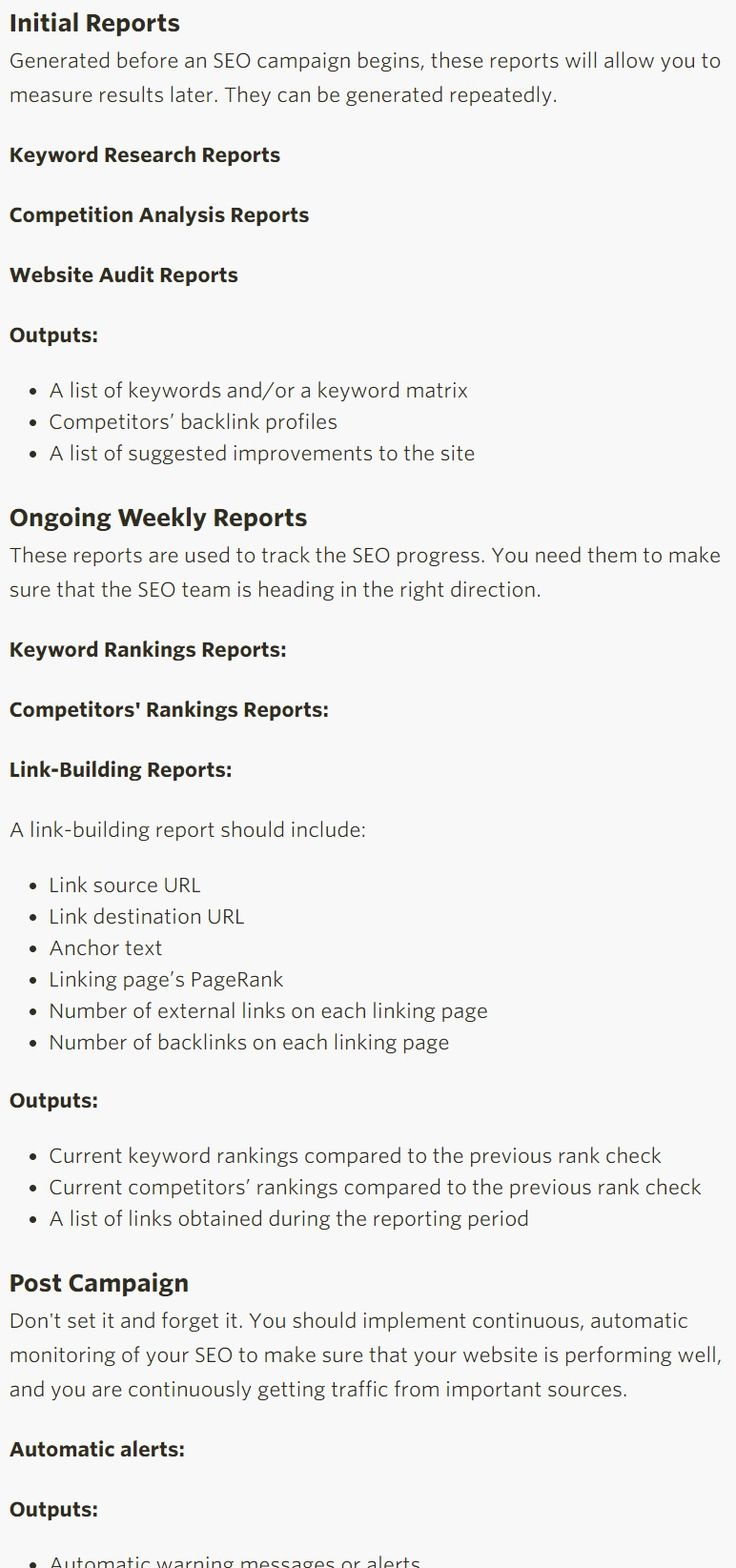 The 7 Must-Have SEO Reports to Meet Today's Search Optimization Challenges - Search Engine Watch