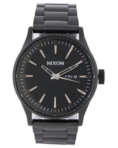 Nixon Sentry SS Watch All Black