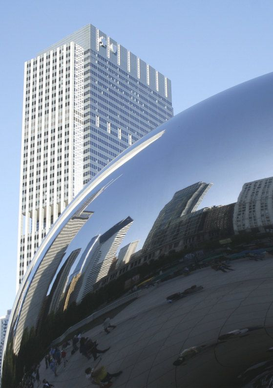 Chicago, Cloud Gate   Travel Photography di TheItalianWanderer su Etsy