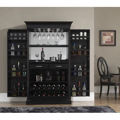 arsenault bar cabinet with wine storage