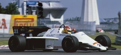 1984 GP Kanady (Huub Rothengatter) Spirit 101 - Hart