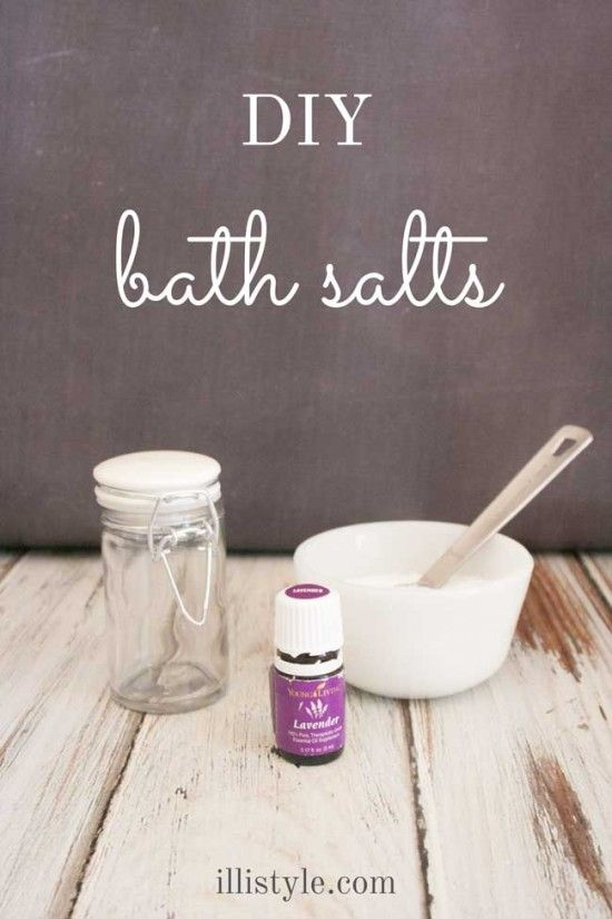 Diy Bath Salt Recipes Mothers Gifts And Essential Oils