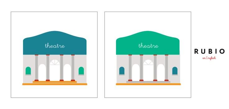 Busca las 5 diferencias entre nuestros dos teatros.