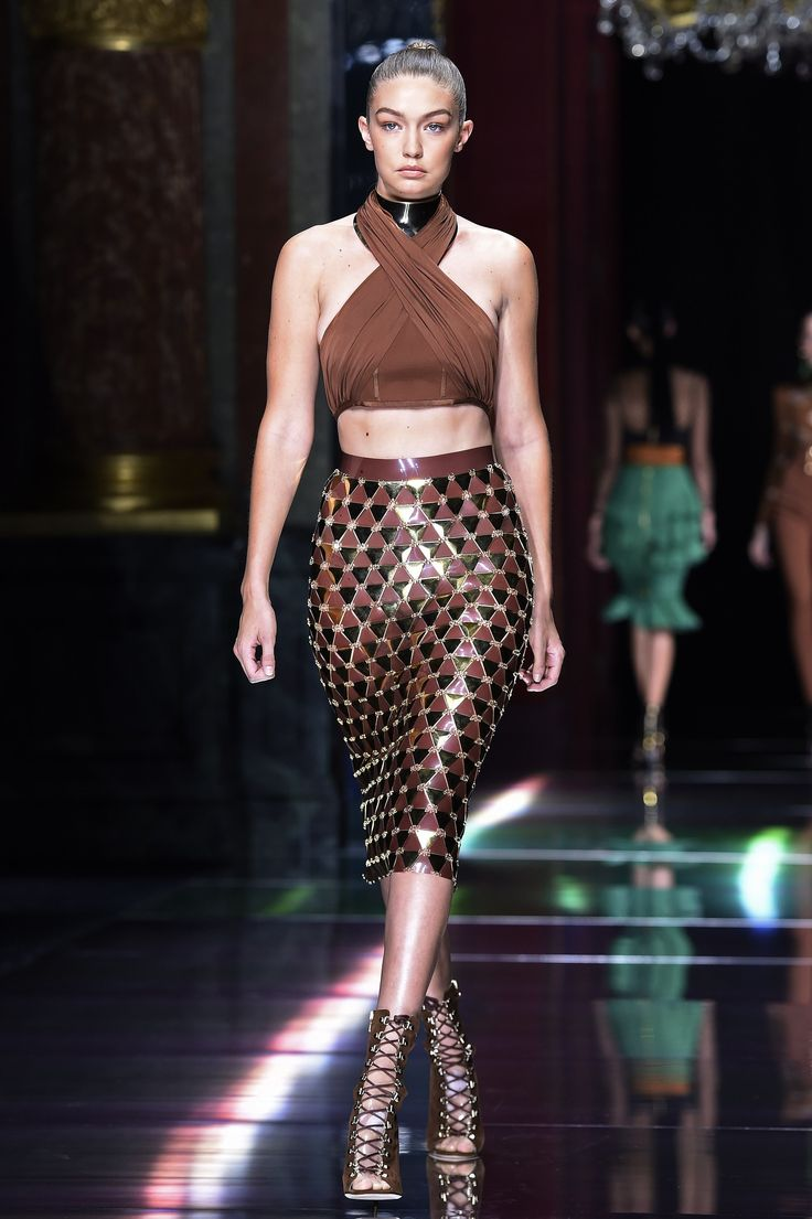 #Défilé #Balmain Fashion Week de #Paris #Fashion #FW #SS16