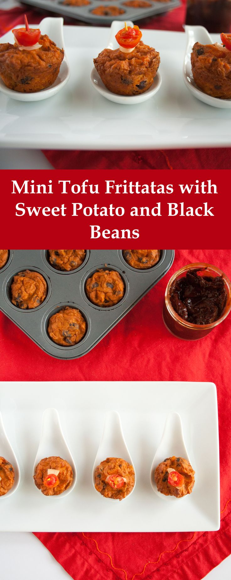 Mini Tofu Frittatas with Sweet Potato and Black Beans - These are ...