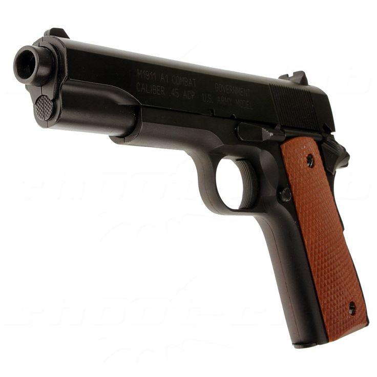 Combat Army M1911 A1 Federdruck Softair Pistole - 6mm