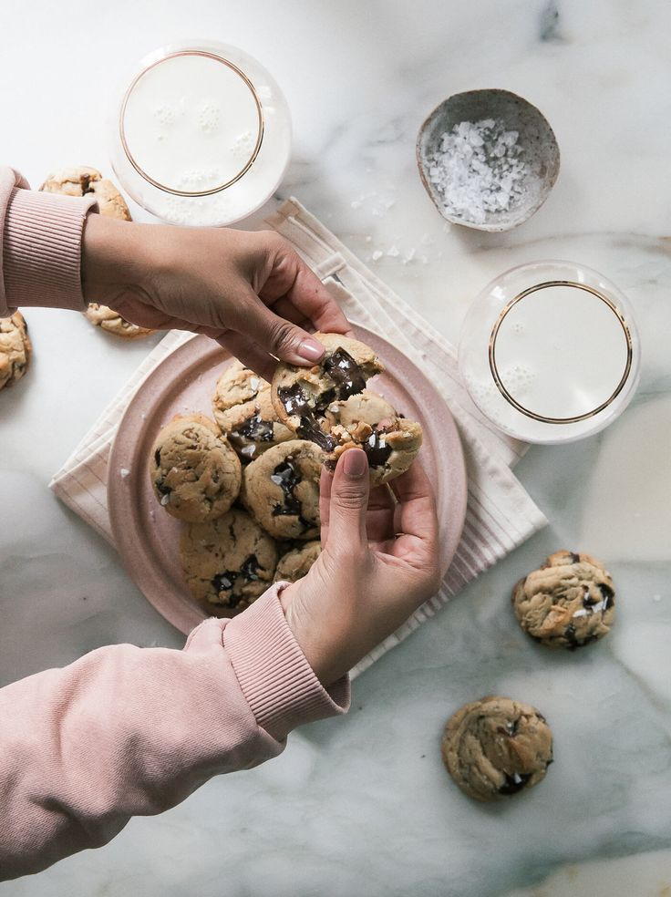 Bourbon Pecan Dark Chocolate Chips Cookies – A Cozy Kitchen