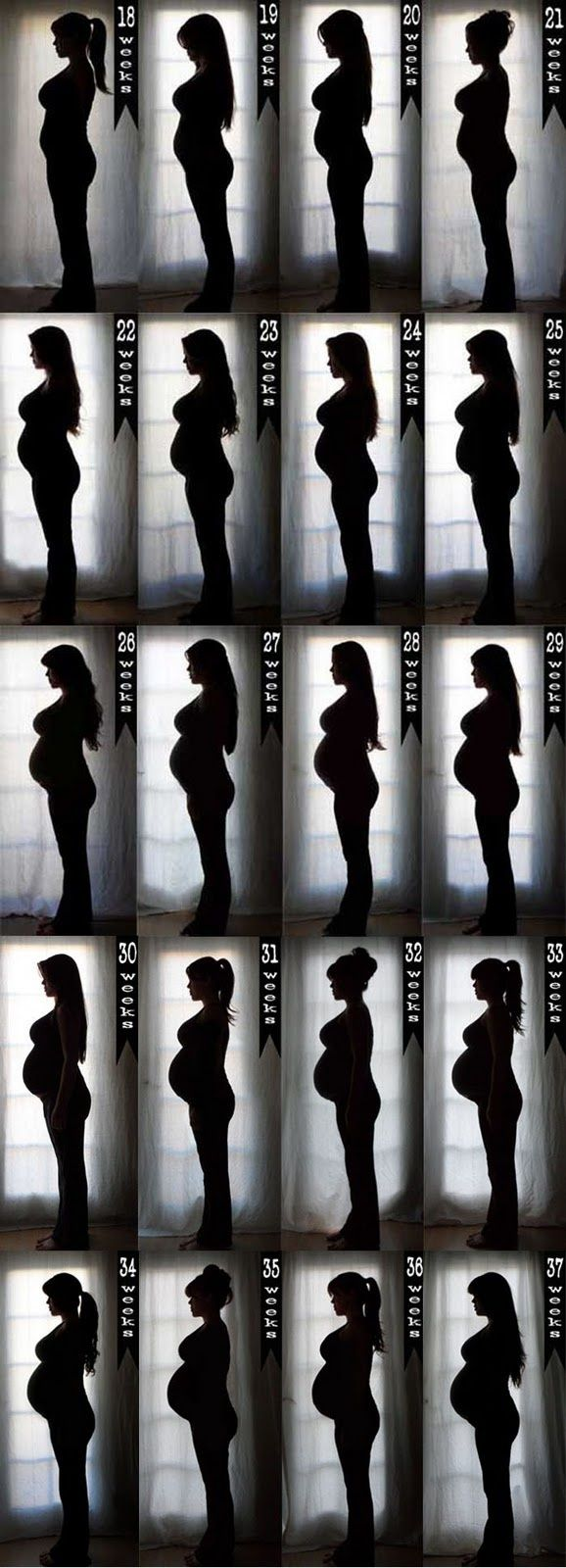silhouette preggo photos...much classier, and something that can actually be framed