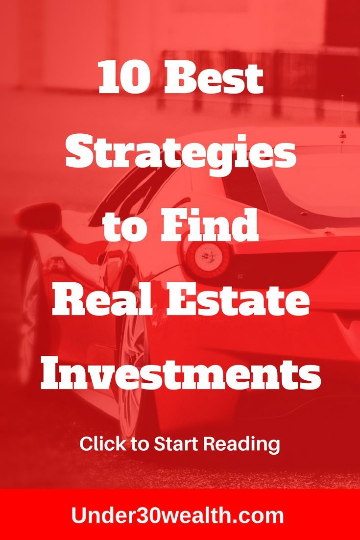 Finding Real Estate Investing Deals 10 Clever Ways To Generate Leads Real Estate Jobs Real Estate Investor Investing