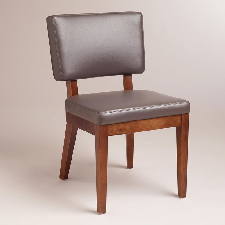 Gray Bonded Leather Sophia Chairs, Set Of 2   World Market Http://. Dining  Table ...