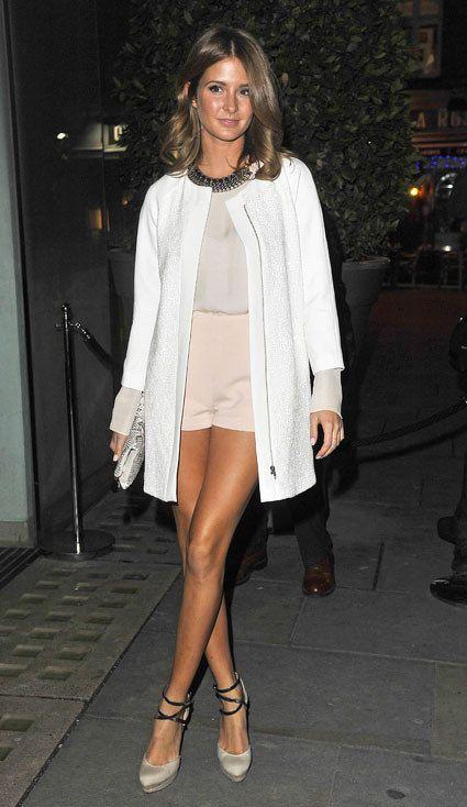 Millie Macintosh | high waisted shorts
