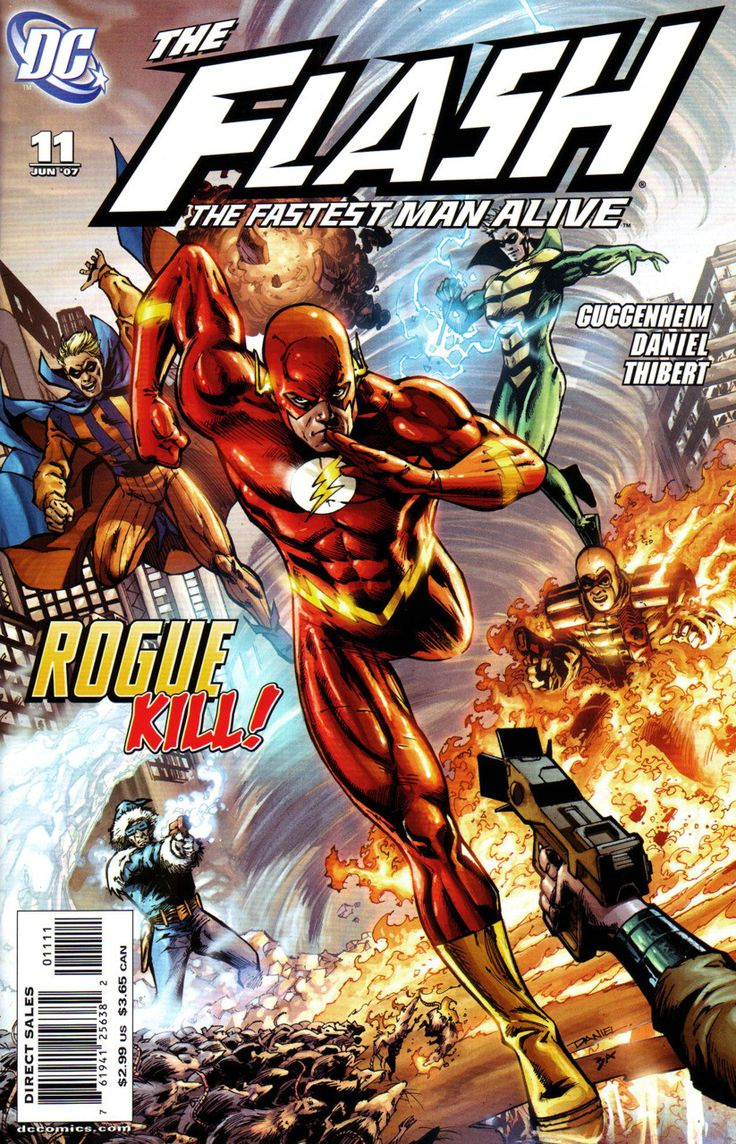 DC Comics - Flash: The Fastest Man Alive (2006) #11 Tony Daniel Variant