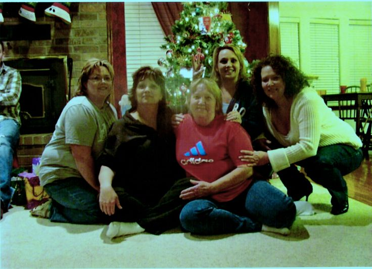 Daughters of Ted and Betty Williams Goodman. Sherrie Goodman Anderson, Carla Goodman Miller, Tonya Goodman Parks and Kimberly Goodman