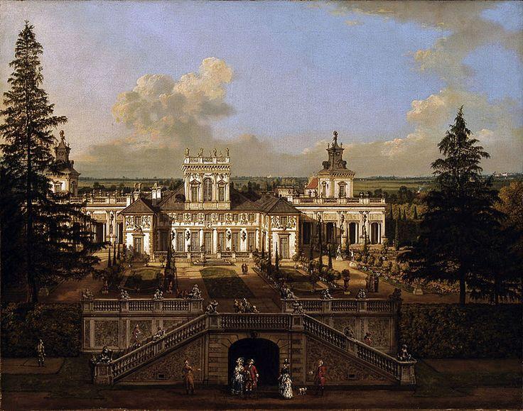 Bernardo Bellotto old Warsaw view.