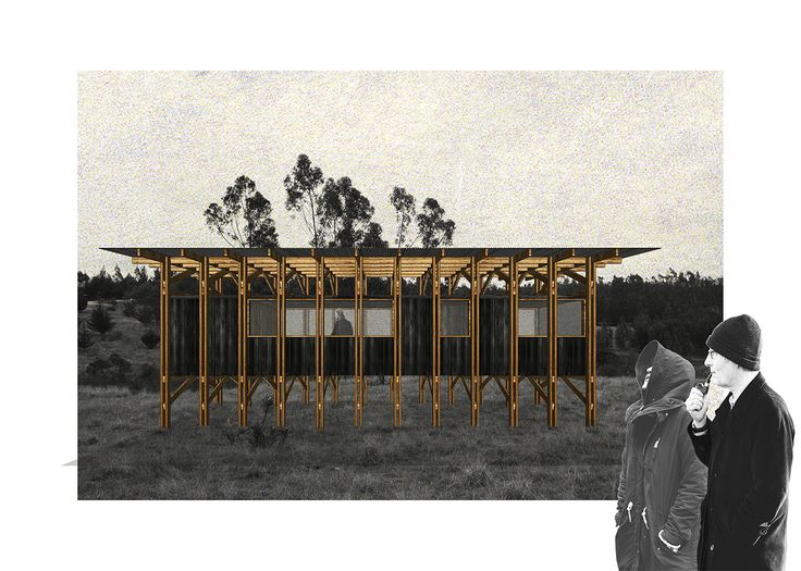 Seeking to connect the traditions of carpentry and the prefabrication industry, Chilean practice abarca+palmahave developed a modular house proposal...