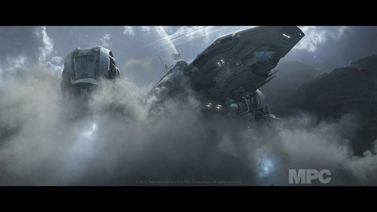 MPC Prometheus VFX breakdown!