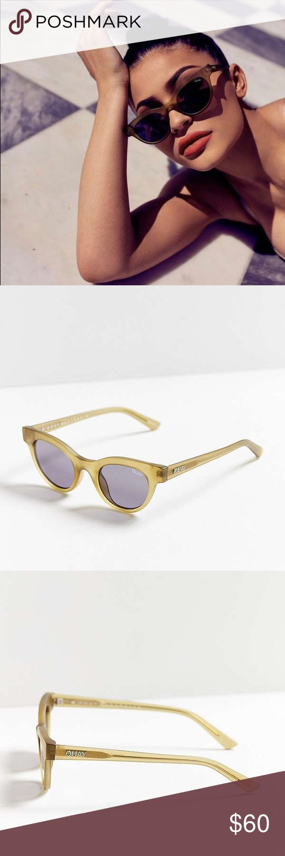 NEW! Kylie Jenner x Quay Australia sunglasses Brand new starstruck sunglasses from this brand new collection. Comes with original case. Looks exactly like images. Never been worn at all. Additional info in images. QUAYXKYLIE Accessories Sunglasses