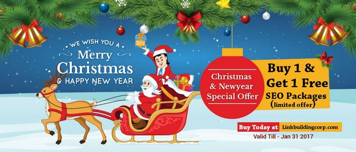 Grab the #Festive_Offer: Buy 1 + Get 1 Free #SEO_Packages